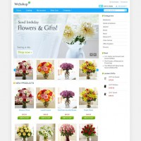 Flowers CS-Cart Template