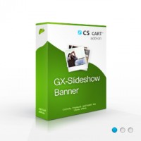 GX-Slideshow Banner CS-Cart addon