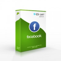 Facebook connection addon for CS-Cart