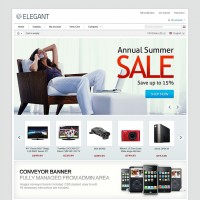 Elegant CS-Cart Theme