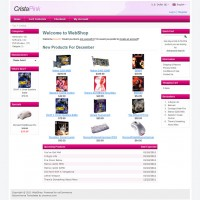 Pure Free osCommerce template Set