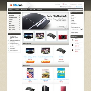 aBagon CS-Cart template